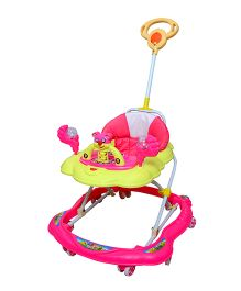 Cosmo Baby Walker With Push Handle Pink - CTI 66
