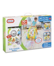 Little Tikes 3 In 1 Activity Walker - Multicolor