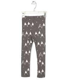Cubmarks Hill Print Leggings - Grey