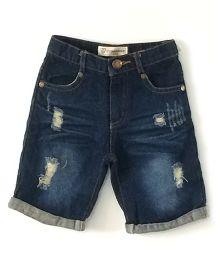 Cubmarks Denim Shorts - Blue