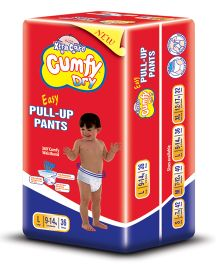 Cumfy Dry Pull Up Pants Large - 36 Pieces