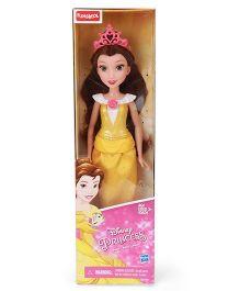 Funskool Disney Princess Belle Doll Yellow - 30 cm