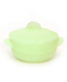 Buddyboo Bowl With Lid - Green