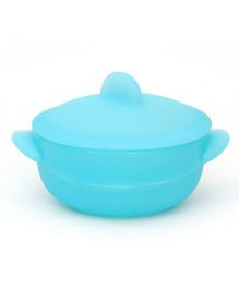 Buddyboo Bowl With Lid - Blue