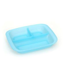 Buddyboo Plate For Kids - Blue