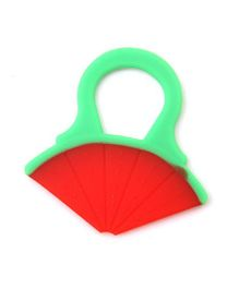 Buddyboo Water Melon Shaped Teether - Red Green