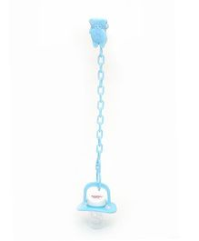 Buddyboo Baby Pacifier With Clip - Blue
