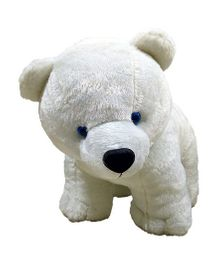 Ultra White Polar Bear Soft Plush Toy - 30 cm