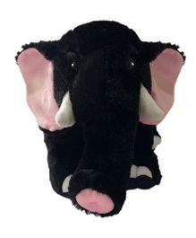 Ultra Animal Elephant Shaped Soft Toy Black - 28 cm