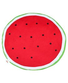 Ultra Soft Watermelon Fruit Cushion - Red