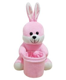 Ultra Soft Bunny Pen Stand Pink - 20 cm
