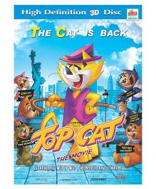 Ultra Top Cat The Movie 3D Disc - English