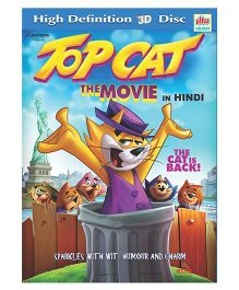 Ultra Top Cat The Movie 3D Disc - Hindi