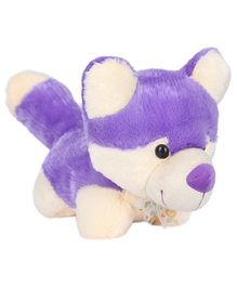 Ultra Soft Fox Designed Toy Purple Cream - 27 cm