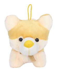 Ultra Fox Designed Soft Toy Yellow And Cream - 27 cm