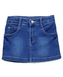 Babyhug Denim Skirt - Blue