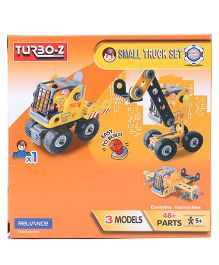 Turboz Build And Play Small Truck Set Multicolour - 48 Parts