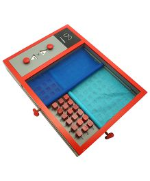 Skola Wooden Scroll And Multiply Game - Multicolor