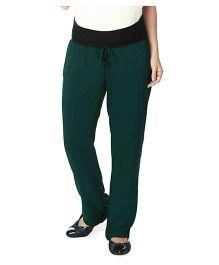 Nine Maternity Full Length Pyjama - Green
