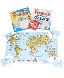My World The First Activity Pack - Map
