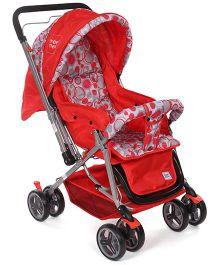 Mee Mee Stroller Cum Pram MM 22 F - Red