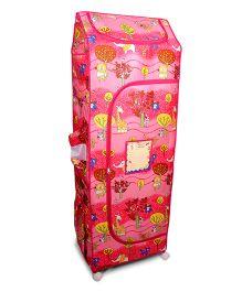 Kudos Wonder Cub Generic 5 Shelf Almirah - Pink