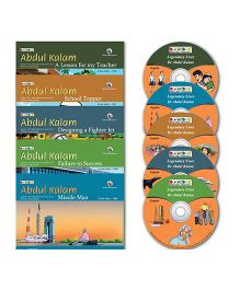 BookBox Abdul Kalam Series Book Set of 5 With CD's - English