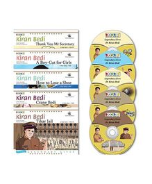 BookBox Kiran Bedi Series Books Set of 5 With CD's - English