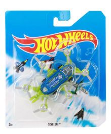 Hot Wheels Skyclone - Green Blue