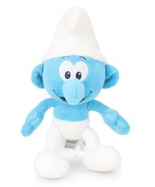 Smurfs Soft Toy Hefty Smurf White Blue - 20 cm