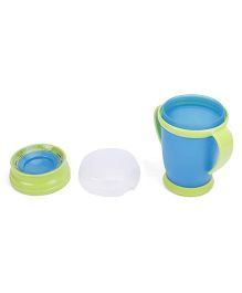 Lovi 360 Cup With Handles Junior Blue Green - 250 ml