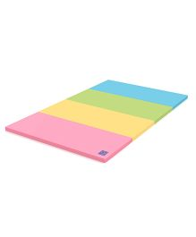 Alzip Color Folder Grand Play Mat - Green Blue Pink