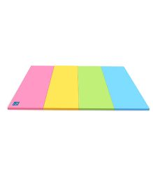 Alzip Color Folder Grand Play Mat - Pink Blue Green