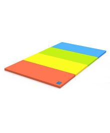 Alzip Color Folder Standard Vivid Play Mat - Orange Yellow Green Blue