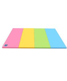 Alzip Color Folder Standard Smart  Play Mat - Pink Yellow Green Blue