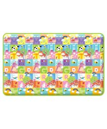 Alzip No 3 PE Mat Animal Friends Theme - Multicolor