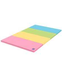 Alzip Color Folder Super Grand New Smart Play Mat - Pink Yellow Green Blue