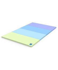 Alzip Color Folder Super Grand Bubble Play Mat - Blue Green