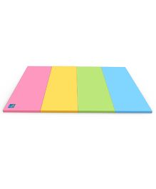 Alzip Color Folder Ultra Grand Smart Play Mat - Pink Yellow Green Blue