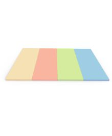 Alzip Color Folder Ultra Grand Smart Play Mat - Yellow Coral Green Green Blue