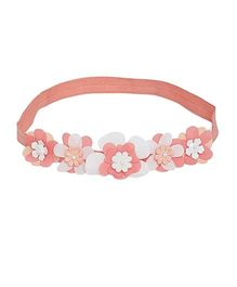 A Little Fable 3D Floral Headband - Peach