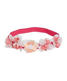A Little Fable Secret Garden Floral Headband - Pink