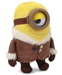 Minions Ice Age Large Soft Toy Yellow Brown - 22 cm