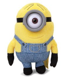 Minions Small Soft Toy Yellow Blue - 13 cm