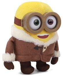 Minions Ice Age Large Soft Toy Brown Yellow - 25 cm
