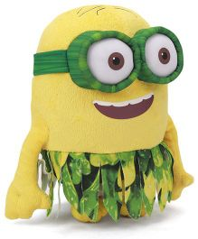 Minions Au Naturale Large Soft Toy Green Yellow - 22 cm