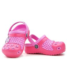 Kidsmojo Angry Birds Clogs For Girls - Pink