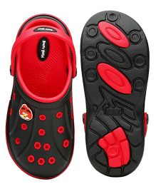 Kidsmojo Angry Birds Clogs For Girls - Red & Black