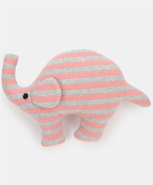 Pluchi Sophia - The Elephant Knitted Toy Pink - 17 cm