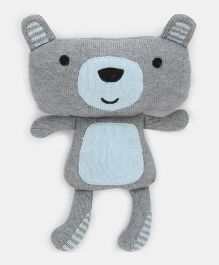 Pluchi James - The Teddy Knitted Toy Grey - 25 cm